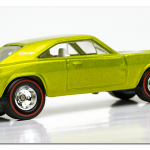 Lime Green Dodge Charger
