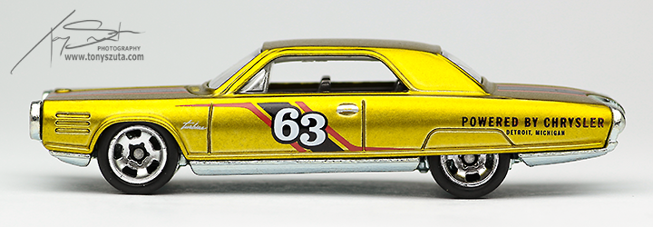 hot wheels chrysler turbine side profile