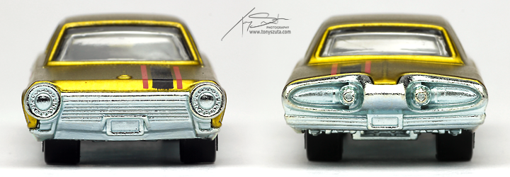 hot wheels chrysler turbine comparison