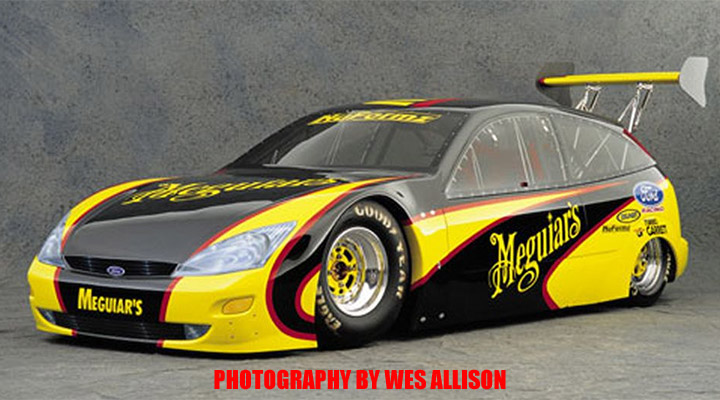Ford Focus Meguiars Drag Car