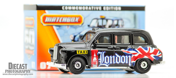 Matchbox Austin FX London Taxi - 60th Anniversary