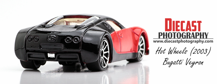 Hot Wheels Bugatti Veyron 2003 - Blog Header