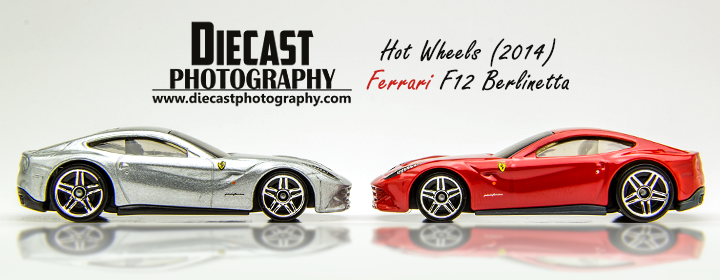 Blog Header - Hot Wheels Ferrari F12 Berlinetta