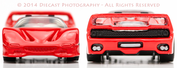 Front and Rear Profile - Ferrari F50 (Spider)