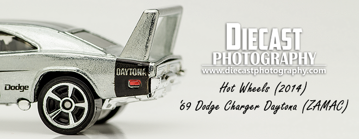 Hot Wheels ZAMAC Charger Daytona - Blog Header