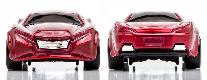 2014 Hot Wheels Ryura - Front  & Rear Profile
