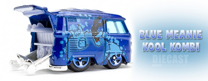 Hot Wheels Beatles Blue Meanie Kool Kombi Header