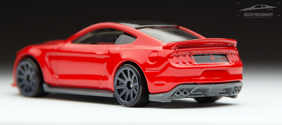 2016 Hot Wheels Ford Mustang Shelby GT350R - Rear